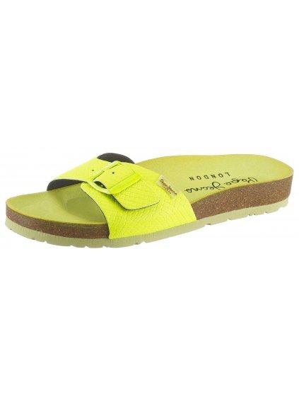 PEPE JEANS neonové pantofle