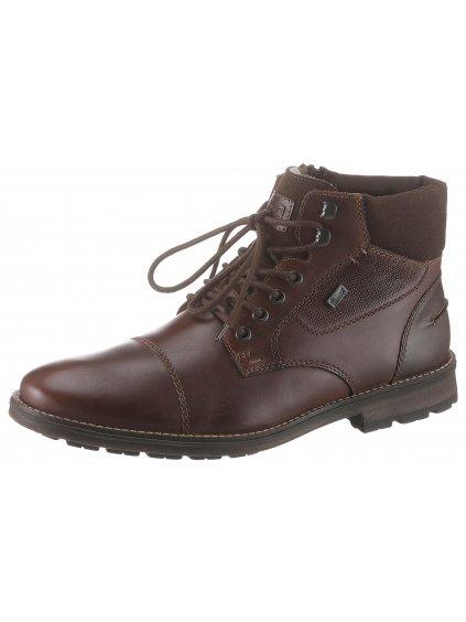 RIEKER zateplené šněrovací boty