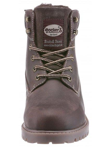 DOCKERS BY GERLI kožené zimní boty